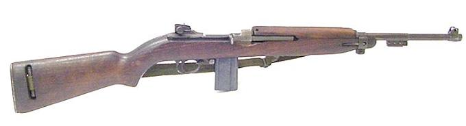 Enlarge ->  M1 Carbine